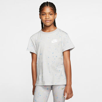 Nike G Nsw Tee Dptl Stary lány póló fekete