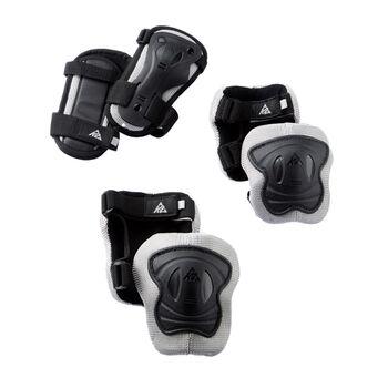 K2 Exo Pad Set Jr. gyerek védőfelszerelés fekete