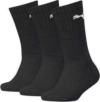 Puma Sport Junior zokni 3 db/csomag fekete