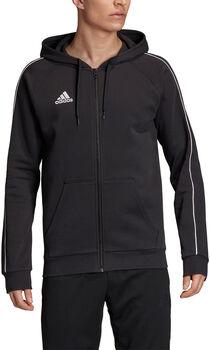 adidas CORE18 FZ férfi kapucnis felső Férfiak fekete