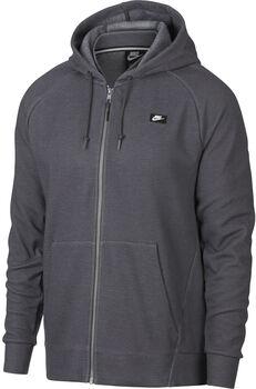 Nike Nsw Optic Hoodie Fz férfi kapucnis felső Férfiak szürke