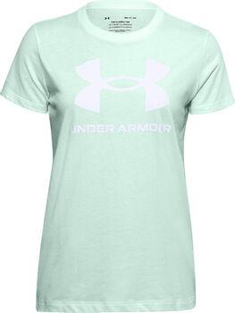 Under Armour Live Sportstyle Graphic SSC női póló Nők zöld