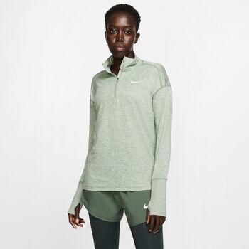 Nike W Element 1/2-Zip női futófelső Nők zöld