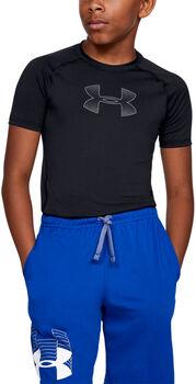 Under Armour HeatGear® Armour gyerek póló Fiú fekete