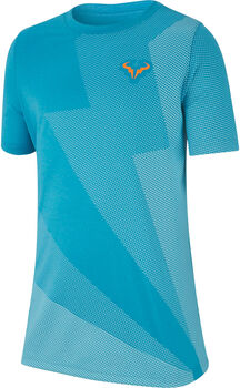 Nike Rafa Big Kids' Tennis T-Shirt kék