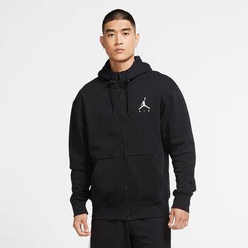 Nike Jordan Air Fleece férfi kapucnis felső Férfiak fekete