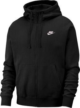 Nike Nsw Club Hoodie Fz Bb férfi kapucnis felső Férfiak fekete