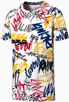 Puma RBR Aop Tee férfi póló Férfiak fehér