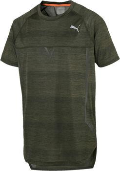 Puma NerverRunBack Viz SS férfi póló Férfiak zöld
