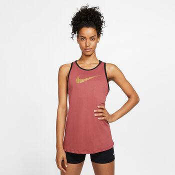 Nike Dri-FIT Glam női ujjatlan felső Nők rózsaszín