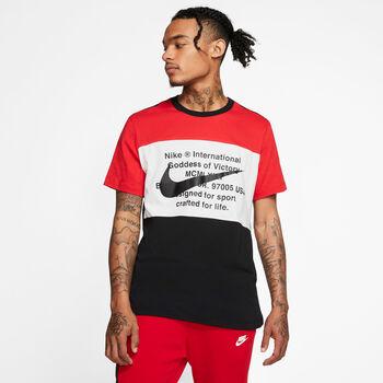 NIKE Ffi.-T-shirt M NSW Férfiak fekete