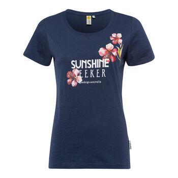 Roadsign Sunshine Seeker női póló Nők kék