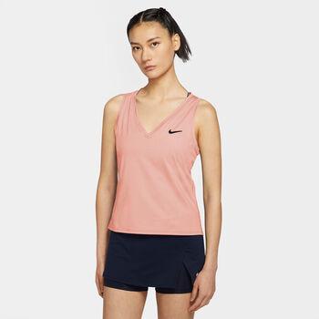 Nike  W NKCT Victory Tanknői teniszfelső Nők narancssárga