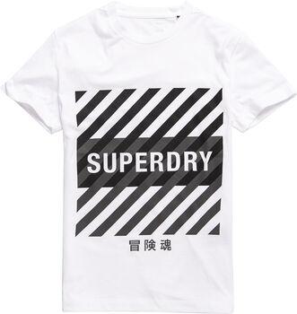 Superdry  Training Coresportférfi póló Férfiak fehér