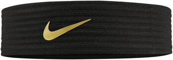 Nike Novelty Ribbed Headban fekete