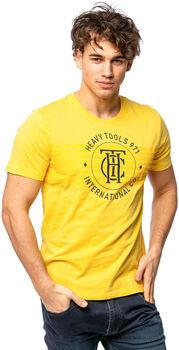 Heavy Tools Melsen férfi póló Férfiak sárga