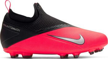 Nike Phantom Vision 2 Academy DF/MG gyerek stoplis focicipő Fiú piros
