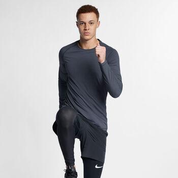 Nike Pro Tech Pack LS férfi hosszú ujjú felső Férfiak szürke
