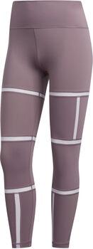 ADIDAS Believe This 2.0 Geo Mesh tight női leggings Nők lila