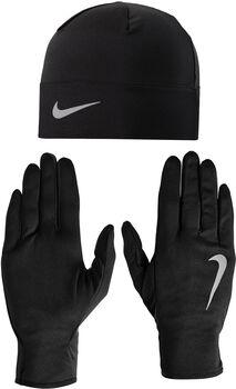 Nike Mens Run Dry Hat And G sapka & kesztyű szett fekete