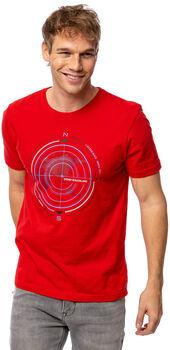 Heavy Tools Manderel férfi póló Férfiak piros