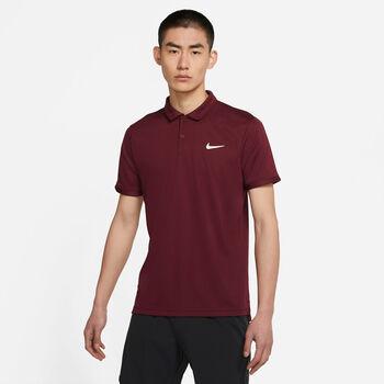 Nike Court Dri-FIT Victory férfi galléros póló Férfiak piros