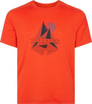 McKINLEY Fiú-T-shirt Cora piros