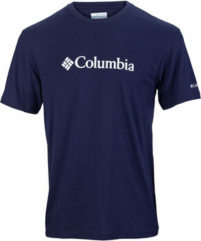 Columbia CSC Basic Logo SS férfi póló Férfiak kék