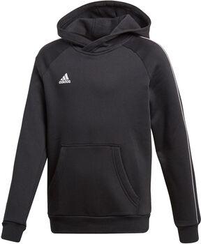 adidas Core18 gyerek kapucnis felső fekete