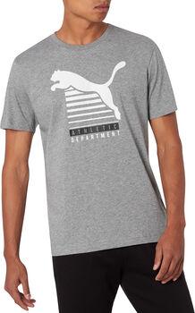 Puma Men Graphic Tee SS férfi póló Férfiak szürke