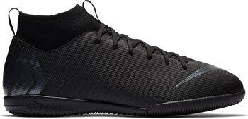 Nike Superflyx 6 Academy gyerek teremfocicipő fekete