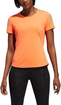 adidas OWN THE RUN TEE női futópóló Nők narancssárga