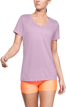 Under Armour Tech™ V-Neck Twist női póló Nők lila