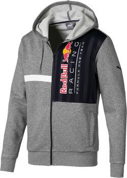 Puma Red Bull Rracing Logo férfi kapucnis felső Férfiak szürke