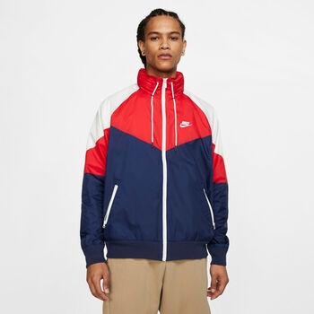 Nike Windrunner férfi kabát Férfiak kék