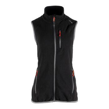 GTS női fleece mellény Nők fekete