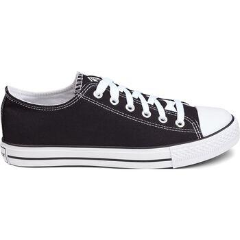 FIREFLY Canvas Low III szabadidőcipő fekete