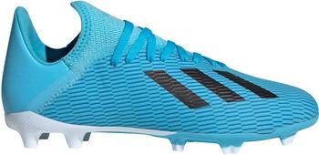 ADIDAS X 19.3 FG J gyerek focicipő kék
