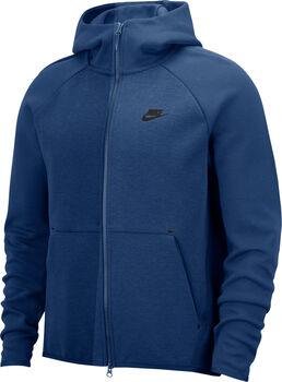 Nike Nsw Tch Flc Hoodie kapucnis felső Férfiak kék