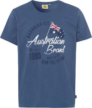 Roadsign Logo Australian férfi póló Férfiak kék