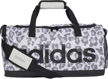 adidas Linear Leopard Duffel sporttáska szürke