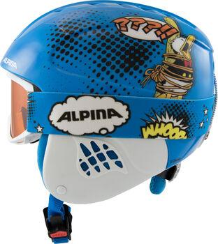 ALPINA Carat Disney Set lány sísisak kék