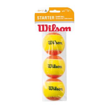 Wilson  Starter Game Balls3 db, 2. fokozat, narancs fehér