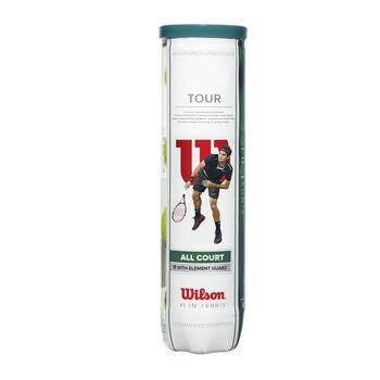 Wilson Tour All Court teniszlabda sárga