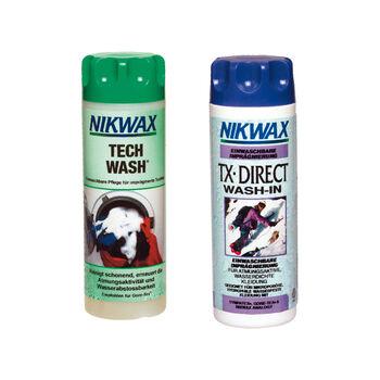 Nikwax Tech Wash/TX.Direct impregnáló és mosószer fehér