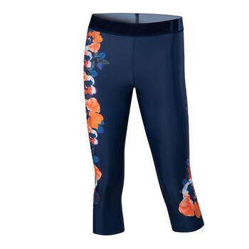 Desigual Posicional Camo Flower női legging Nők kék