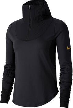 Nike W Nk Top LS Midlayer női hosszúujjú felső Nők fekete