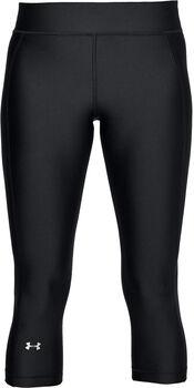Under Armour HeatGear® Armour női capri nadrág Nők fekete