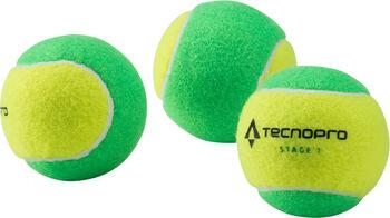 TECNOPRO Bash Stage 1 teniszlabda zöld