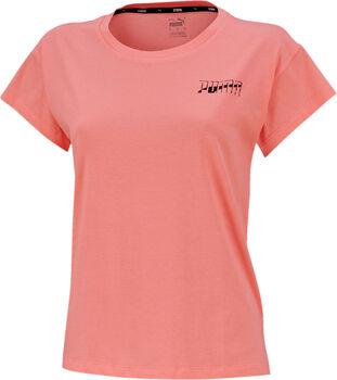 Puma Womens Tee II női póló Nők rózsaszín